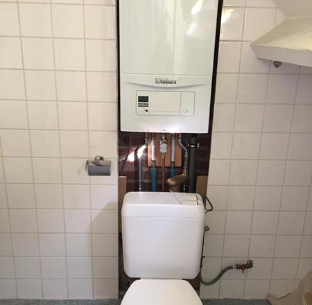 Dépannage chauffage et sanitaire près de Wavre, Mons, Nivelles